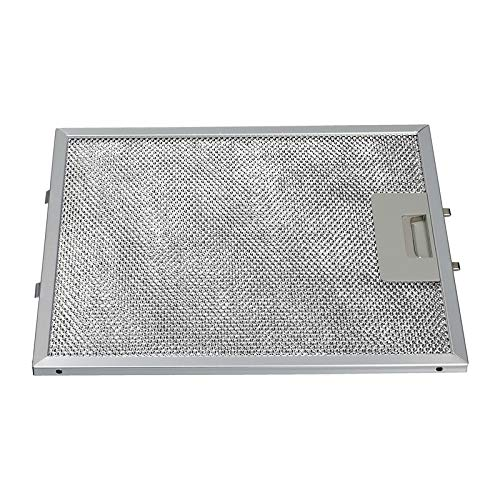 Metallfettfilter Filtergitter passend für AEG Electrolux 4055101671 eingesetzt in Dunstabzugshauben