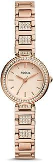 Fossil Women's KARLI MINI STAINLESS STEEL WATCH BQ3517, ROSE GOLD