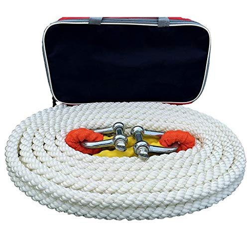 Best Review Of Car Tow Rope 10 Tons 5 Meters\ 7 Meters\9 Meters Off-Road Vehicle Traction Rope Tow R...