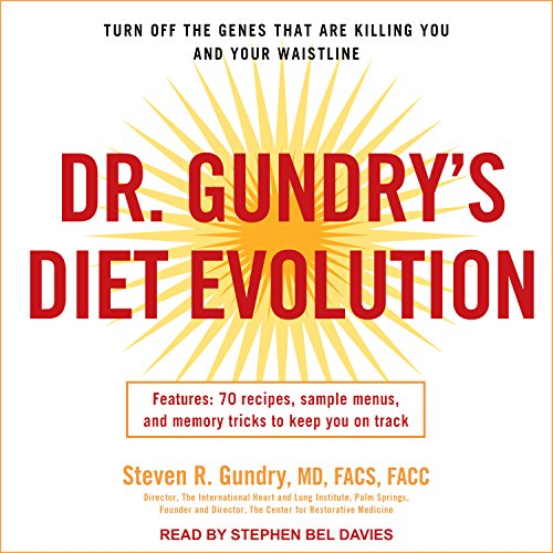 Dr. Gundry's Diet Evolution cover art