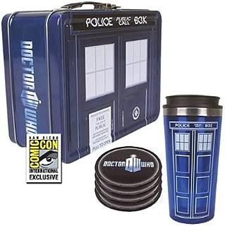 Doctor Who TARDIS Tin Tote Gift Set - SDCC Exclusive