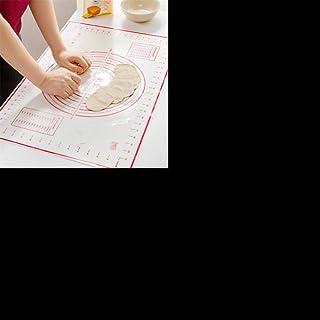 LLAAIT Feuille de Cuisson en Fibre de Verre en Silicone Pâte à Rouler Pâtisserie Gâteaux Ustensiles de Cuisson Doublure Pa...