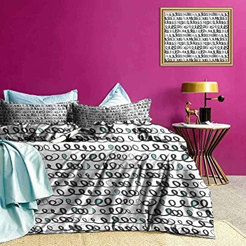 Quilt Cover Set Ranunculus Mazzi All-Purpose letto di morbido, traspirante, facile da lavare