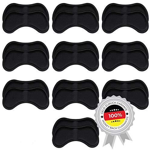 10 Paar komfortable Fersenpolster (verschiedene Farben) | Fersenhalter | Heel Pads | Schuheinlagen | für mehr Komfort und einen besser passenden Schuh |10 Paare Schwarz