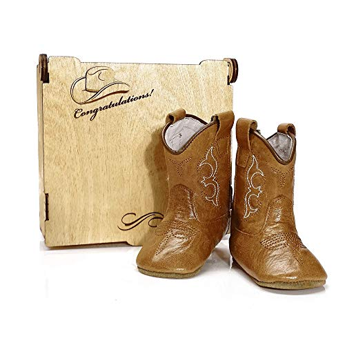 Newborn Kids Girl Cowboy Boots