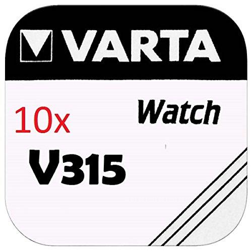 Varta 00315101111 Single-Use Battery Argent-Oxide (S) - Piles domestiques (Single-Use Battery, Argent-Oxide (S), 1,55 V, 1 pièce(s), 23 mAh, Métallique)