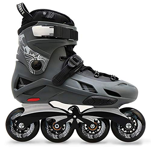 Adults Inline Skates, Professional Roller Skates for Men's and Women's, Comfortable Roller Blades, Lightweight Triple Protection, Great for Beginners,A,4.5 UK/38 EU