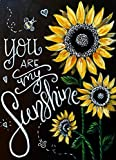 You are My Sunshine 5D Diamond Painting by Number Art Kits - 12x16 inches Embroidery Kits for Adults Blackboard Painting Full Drill DIY Wall Art Craft by Nivvey
