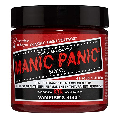 Manic Panic - Vampire'S Kiss Classic Creme Vegan Cruelty Free Semi-Permanent Hair Colour 118ml