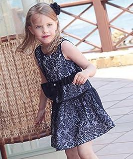 ドレス 子供CB12 韓国子供服 ショコラシリーズ サンドラ ドレスワンピース 紺色レースワンピース