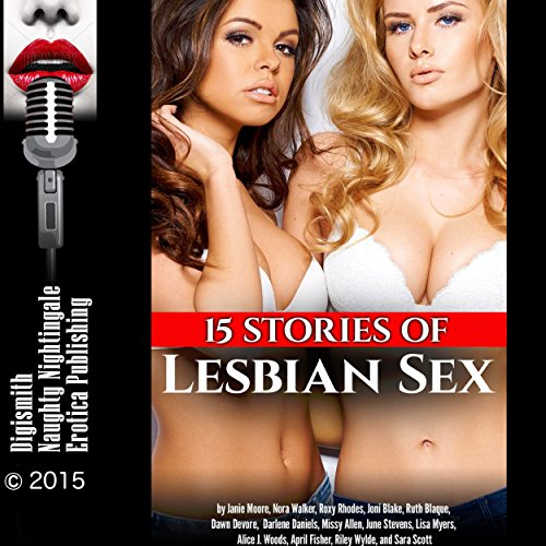 Couverture de 15 Stories of Lesbian Sex