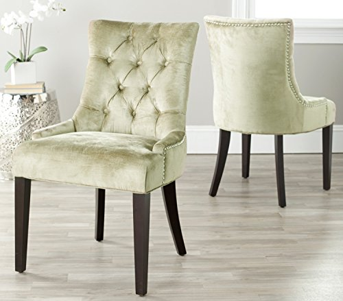 Hot Sale Safavieh Set of 2 Ashley Side Chairs, Gold