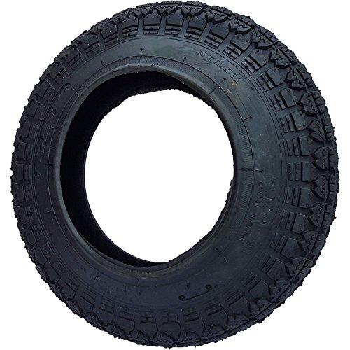 Neumático de semitacos 3,50-8 reforzado para ruedas de carretilla