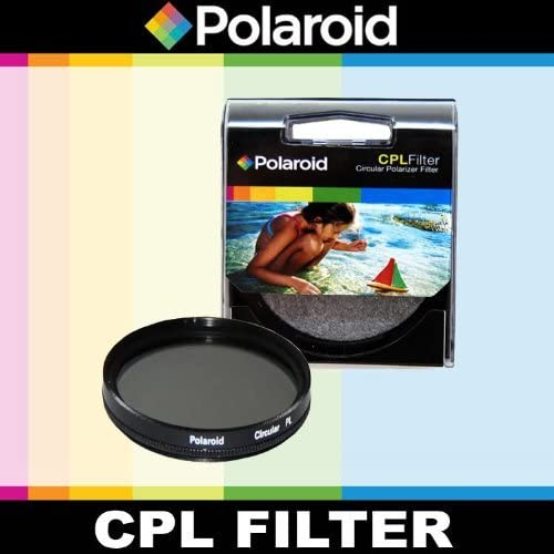 wholesale Polaroid Optics CPL Circular Polarizer Filter For The Panasonic wholesale Lumix DMC-G3, DMC-GF3, DMC-G1, DMC-GH1, DMC-GH2, DMC-GH3, DMC-GH4, DMC-L10, DMC-GF1, DMC-GF2, DMC-G10, DMC-G2, DMC-GF3, DMC-G3, DMC-GF5, DMC-G5, online sale DMC-GF6, DMC-G6, DMC-GX7, DMC-GM1 Digital SLR Cameras Which Has A (14-50mm, 100-300mm ) Micro Lens outlet online sale