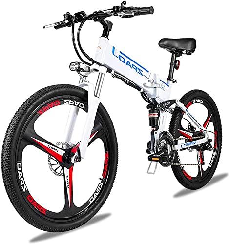 Bicicleta electrica Bicicleta plegable de 48V 500W de alta potencia eléctrica Bicicleta...