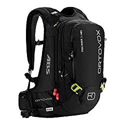Ortovox Lawinenrucksack Free Rider ABS inkl. A.S.S. Unit, Black Anthracite, 55 x 27 x 20 cm, 26 L, 4674300003