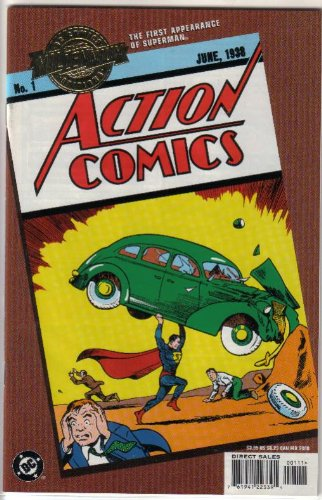 ACTION COMICS #1 (First Appearance of SUPERMAN), RARE...