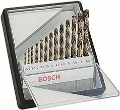 Bosch Professional 2 607 019 926 Bosch - Juego de brocas para metal Robust Line HSS-Co, 0 W, 0 V, Set de 13 Piezas