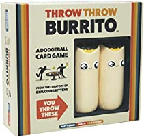 Throw Throw Burrito by Exploding Kittens - A Dodgeball Card Game - Family-Friendly Party Games - Card Games for Adults,...