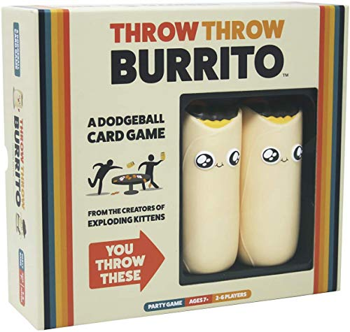 Throw Throw Burrito by Exploding Kittens...