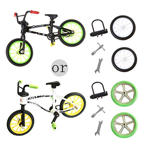 AERVEAL Mountain Bike,Mountain Bike Excellent Functional Metal Toys Mini Extreme Sports Cool Boy Creative Game Toy Set Collections-Colors Randomly
