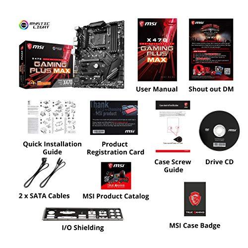 Build My PC, PC Builder, MSI X470GAMINGPLUSMAX
