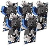 AZDelivery 5 x LM2596S DC-DC Netzteil Adapter Step down Modul kompatibel mit Arduino inklusive eBook!