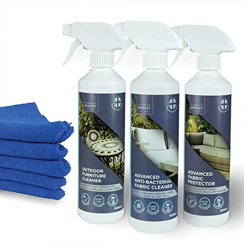 Charles Bentley Outdoor Furniture Cleaner, Fabric Cleaner and Protector