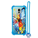 Case for DOOGEE VOYAGER2 DG310 Case Silicone border + PC