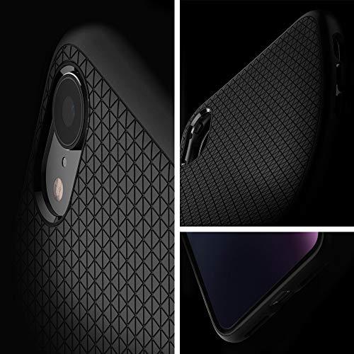 Spigen Liquid Air Armor Designed for Apple iPhone XR Case (2018) - Matte Black