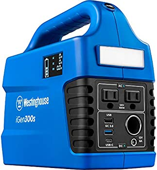 Westinghouse 300 Rated Watts Outdoor Portable Power Station Generator