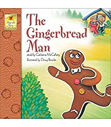 Image: The Gingerbread Man (Keepsake Stories) | Paperback: 32 pages | by Catherine McCafferty (Author). Publisher: Brighter Child; 1 edition (August 23, 2001)