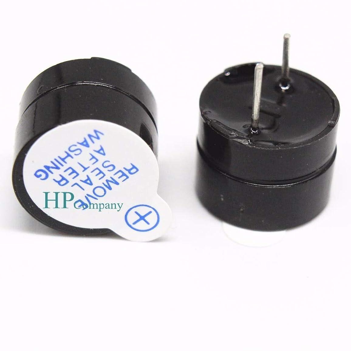 シビック自己うねるWillBest 10PCS Active buzzer split 12095 DC SOT Plastic Sealing tube 5V long sound 12 * 9.5mm foot Distance 7.6mm