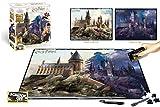 Prime 3D - Puzzle lenticular rasca Hogwarts día y noche (Efecto 3D), 500 piezas