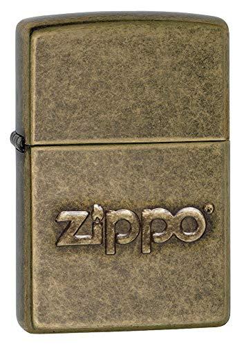 Zippo Zippo 60002307 PL Stamp Feuerzeuge, Messing, Edelstahloptik, 1 x 3,5 x 5,5 cm Edelstahloptik