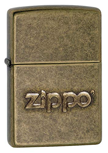 Zippo 60002307 PL Stamp Feuerzeug, Messing, Gold, one Size