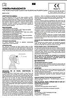 Pluribol Visiera Protettiva Paraschizzi in Pet Riutilizzabile Adulto Made In Italy Dispositivo di Protezione Individuale Cat.II 2 Pezzi #7