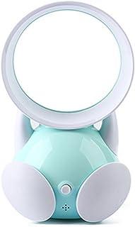 WFZ17 - Mini Ventilador portátil USB silencioso para Oficina, Escritorio, sin Hojas, Aire Acondicionado, plástico abs, Azul, Talla única