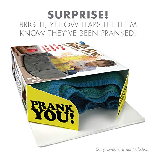 """Prank Pack """"My First Fire"""" - Wrap Your Real Gift in a Prank Funny Gag Joke Gift Box - by Prank-O - The Original Prank Gift Box   Awesome Novelty Gift Box for Any Adult or Kid!"""