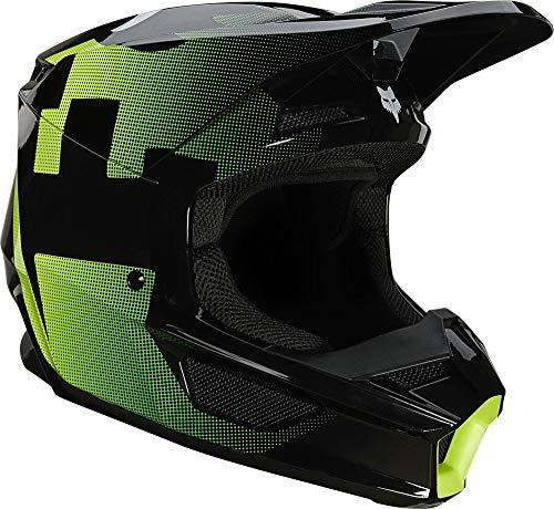 Fox Racing V1 TAYZER Helmet, Black, Large