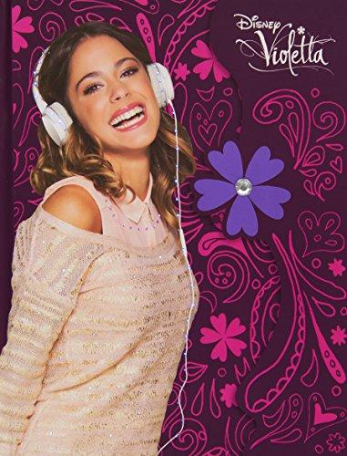 Giochi Preziosi 70871741 - Disney Violetta Tagebuch mit Licht, Papeterie Sticker