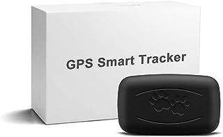 LMHOME GPS - Localizzatore satellitare per animali domestici, 50 g, mini trasmettitore leggero e impermeabile con portata ...
