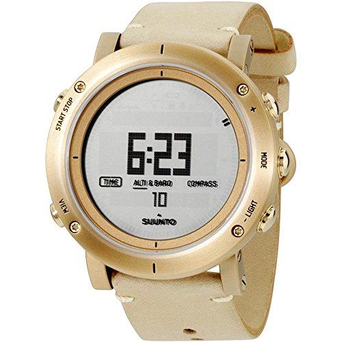 Suunto Herren-Armbanduhr Digital Quarz Leder SS021214000