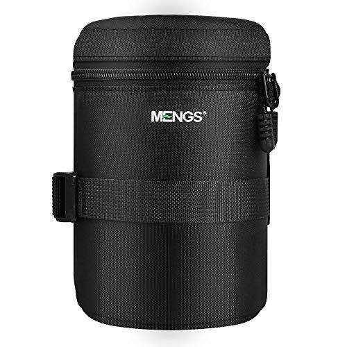 MENGS FY-4 800D Nylon Objektivbeutel Verdicken Schutz Gepolsterte Kamera Objektivtaschen für DSLR Digitalkamera Objektive