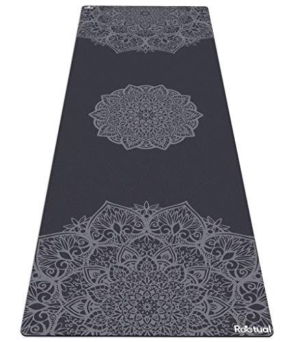 Reetual, The Yoga Mat That Adores Sweat | Premium 2in1 Hot Yoga Mat Non Slip Combo Towel - With Carrying Strap | Eco Friendly | Designed for Bikram, Hot Yoga, Ashtanga, Vinyasa, Power, Hatha, Pilates