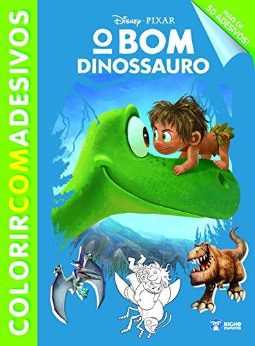 O Bom Dinossauro - Coleção Disney Colorir com Adesivos