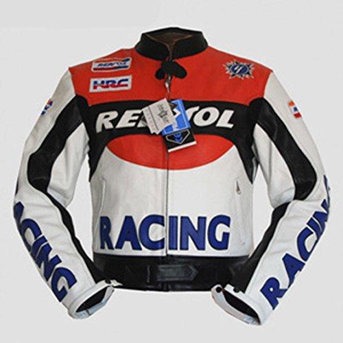 4LIMIT Sports Biker Motorradjacke Repsol Lederjacke Motorrad Jacke