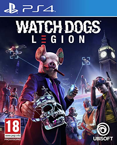 Watch Dogs Legion Ps4 - - PlayStation 4 [Importación italiana]