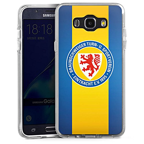 DeinDesign Samsung Galaxy J7 (2016) Bumper Hülle Bumper Case Schutzhülle Eintracht Braunschweig Fanartikel Fussball