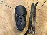 Orletanos Skull Flaschehalter Compatible con Harley Davidson Latas Titular de...